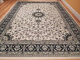 Black And Cream Rug Amazon Com New Cream 5x8 Rug Ivory Black Persian Tabriz Design