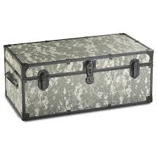 military style metal footlocker 623209 storage containers at