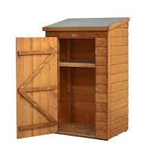 Backyard Storage Units Mini Wooden Store Small Outside Storage Unit With Shiplap Cladding