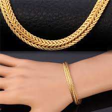 rose gold fashion bracelet images Bracelet for men women fashion jewelry rose gold yellow gold color jpg