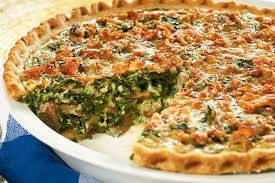 cuisine quiche weeknight spinach quiche recipe kraft recipes
