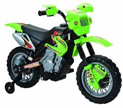 wheels motocross bikes amazon com happy rider fun wheels 6 volt battery operated dirt bike
