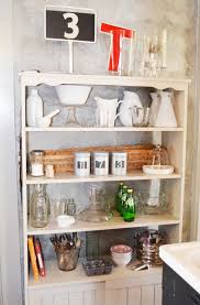 your kitchen by adding open shelving on an empty wall kitchen organizer wall mount storage kitchen shelf