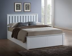 happy beds phoenix ottoman storage bed wooden modern space saving