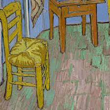 vincent van gogh bedroom the chair explore the paintings van gogh s bedrooms