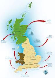 Dundee Scotland Map In The Wake Of The Great British Explorers British Heritage Travel
