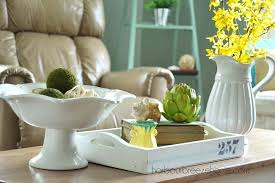 coffee table decor spring coffee table decor harbour breeze home