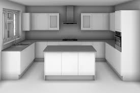 u shaped kitchens with islands the u shape with island kitchen design ideas