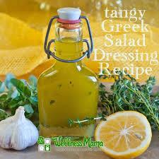 tangy greek salad dressing recipe wellness mama