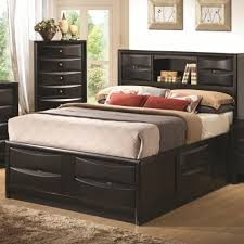 Platform Beds With Storage Underneath - bed frames twin platform bed storage twin bed with drawers