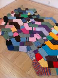Do Rug Crafty Diy Ideas With Old Socks Socks Creative And Craft