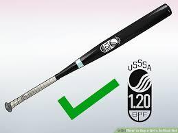discount softball bats 3 ways to buy a girl s softball bat wikihow