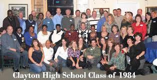 clayton high school yearbook members page