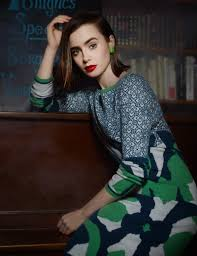 The Blind Side Of Love Lily Collins Photoshoot Tags Fashion The Mortal Instruments