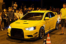 mitsubishi yellow бампер varis u2014 бортжурнал mitsubishi lancer evolution yellow devil
