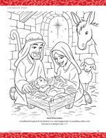 jesus in the manger coloring page jesus is born friend dec 2013 friend