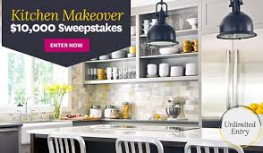 How To Win A Kitchen Makeover - kitchen makeover sweepstakes sweepstakesbible