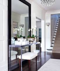 Foyer Console Table And Mirror Furniture Glass Modern Console Tables Glass Modern Console
