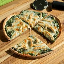 turkey spinach alfredo pizza the weary chef