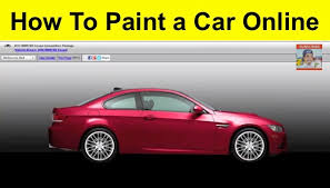 how to paint a car online1 jpg