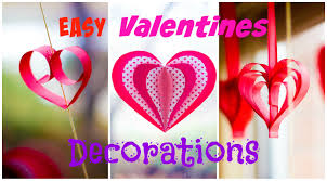 3 easy valentines day decorations
