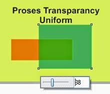 membuat gambar transparan di corel draw x7 transparansi objek tutorial dasar coreldraw x7 grafisin