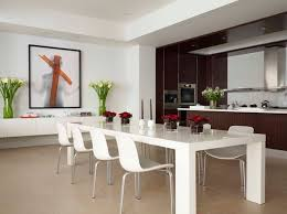 contemporary dining room tables interior delightful contemporary dining furniture 22 modern white