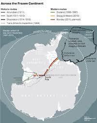 map of antarctic stations explorer dies in record breaking antarctic crossing nat geo