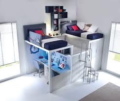 lit superposé avec bureau pas cher mezzanine pas cher