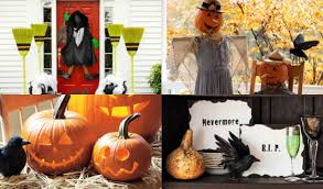 fall craft fun homemade halloween scarecrow decorations with by