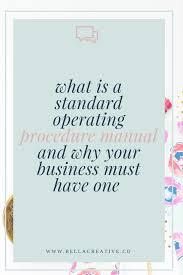 best 10 standard operating procedures manual ideas on pinterest