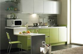modern simple kitchen remodel ideas with nice green cabinets easy