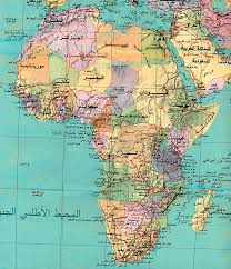 Physical Africa Map by Africa Other Maps