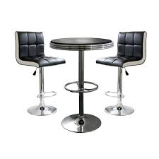 metal bar table set dining room furniture metal pub table and chairs mission pub table
