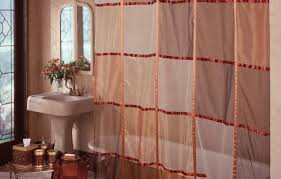 Stall Size Fabric Shower Curtain Shower Unusual Cloth Shower Curtains With Valance Shining Fabric