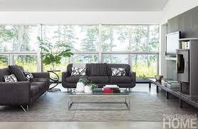 Define Sitting Room - maine woods modern new england home magazine