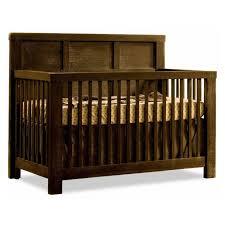 dark wood crib modern home convertible baby cribs in medium wood
