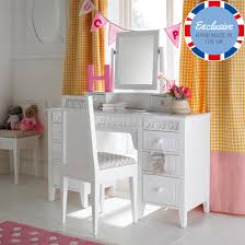 childrens dressing tables with mirror and stool florence flutterby large dressing table and mirror childrens