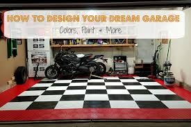 how to design your dream garage colors paint u0026 more