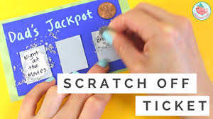 father u0027s day gift card how to make diy scratch off card