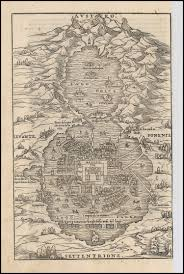 Mexico Map Cities by Mexico City Map Giovanni Battista Ramusio 1556 Learn More About
