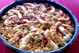 les recette cuisine paëlla aux poissons les recettes de ma mère