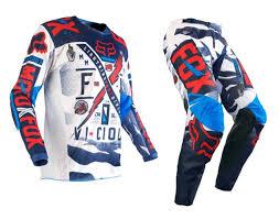 Bike Womens Ladies Fox Motocross Gear Mx New Black Pink White Dirt