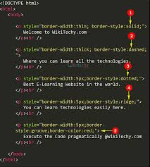 Css Table Border Color Css Css Border Style Learn In 30 Seconds From Microsoft Mvp