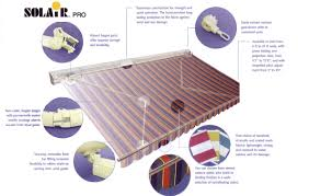 Retractable Awning Parts Retractable Solair Lateral Arm Js Canvas Awnings Of Sacramento