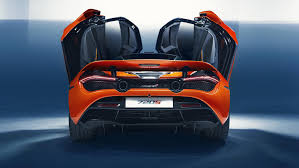 orange mclaren rear mclaren 720s u2013 gaskings