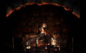 images of christmas fireplace screensaver sc