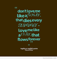 wedding quotes tagalog summer forever tagalog quote