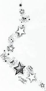 skull dices starstattoo design by 2face tattoo deviantart com on