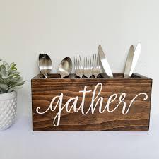 kitchen perfect silverware caddy for your kitchen storage